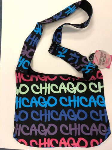 New Robin Ruth Chicago Cross Body Sling Tote Bag