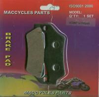 Praga Disc Brake Pads Ed250 1999 Front (1 Set)
