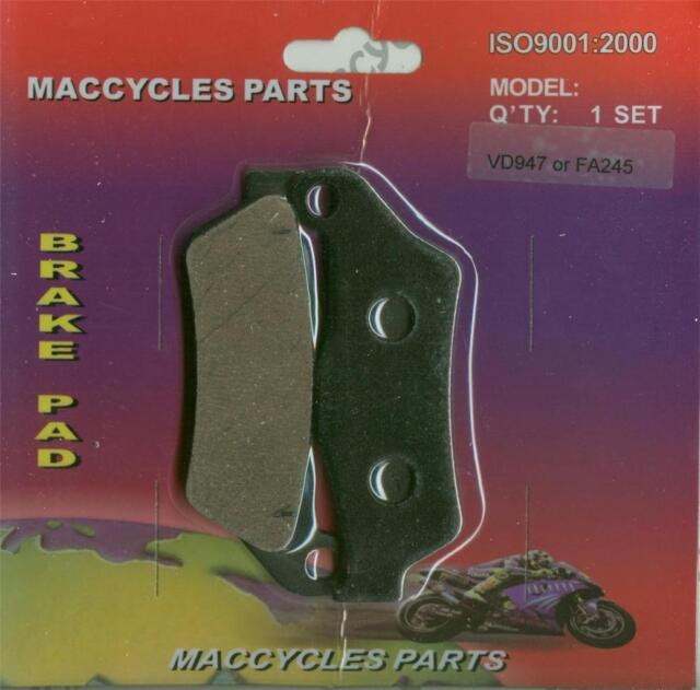 2 sets Husaberg Disc Brake Pads FX600 1999 Front /& Rear
