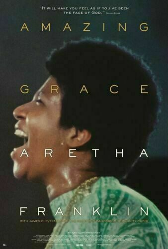H-538 Amazing Grace 2019 Movie Aretha Franklin Music Art Hot Silk Poster