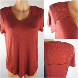 NEW-Ex-M-amp-Co-Ladies-Short-Sleeve-Top-Size-10-20