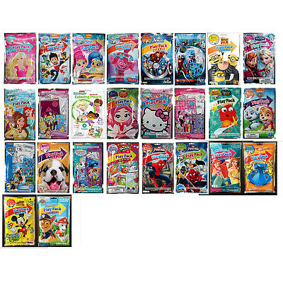 VARIOUS* Set GRAB /& GO PLAY PACK Crayons+Stickers+Coloring Book *YOU CHOOSE* 1