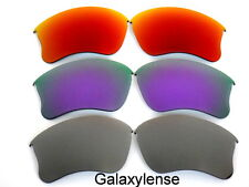 Galaxy Replacement Lenses for Oakley Flak Jacket XLJ Sunglasses Gray&purple&red