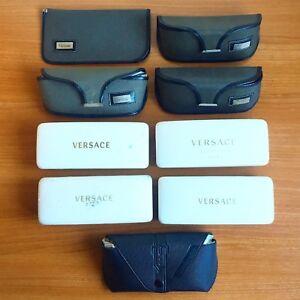 Fodero Occhiali Da Sole Custodia Versace Box Sunglasses Astuccio Case Vintage Performance Fiable