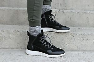 best authentic 9c0d2 45cfe Details about ZARA MAN HIGH SNEAKERS BLACK YEEZY ZIP Ref. 2552/102 all  sizes ss 2016
