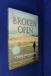 BROKEN OPEN Craig Hamilton BOOK Bipolar Depression Mental Health Memoir Book