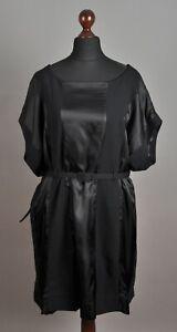 Women-039-s-MAISON-MARTIN-MARGIELA-x-H-amp-M-CA-Tunique-Wool-Black-Dress-One-Size