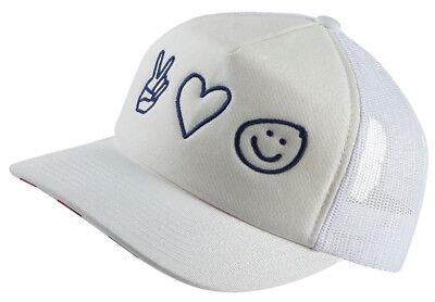 F ck Yeah Merica Blue and White Trucker Cap Funny Slogan America Baseball Cap