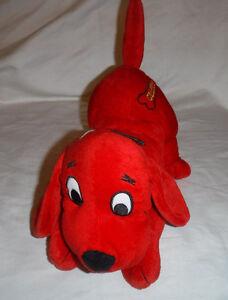 12-034-Clifford-the-Big-Red-Dog-Nanco-Plush-Soft-Toy-Stuffed-Animal