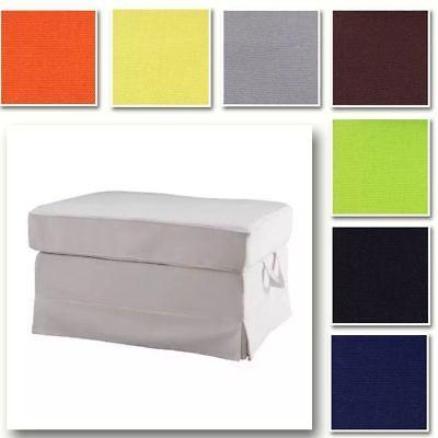 Nach Maß Abdeckung Bezug Hocker Passend für IKEA Ektorp Hocker 32 Optionen