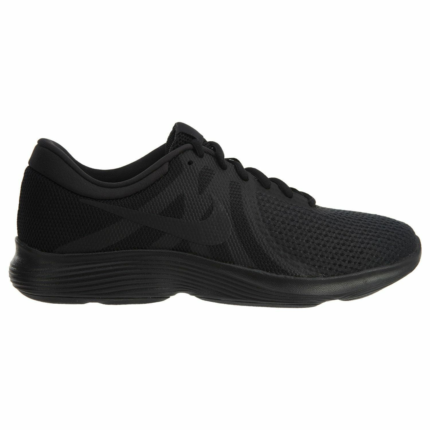new products d7d27 82155 Nike REVOLUTION 4 amplia 4e Negro   Negro aa7402 002 002 002 Hombre running  Shoes Casual salvaje 6684b5