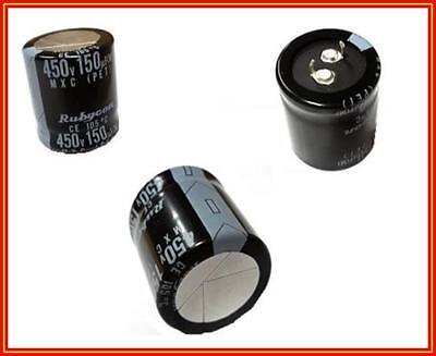 Jamicon Elko Kondensator Capacitor 220µF 450V 85° SnapIn 30x35 RM10 1 Stück