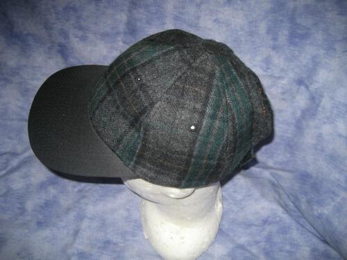 NEW ! CAP Tartan wool blend adjustable