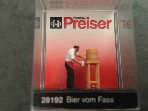 Preiser 28192 Bier vom Fass