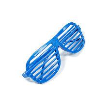 New Full Shutter Blue Glasses Shades Sunglasses Club Party