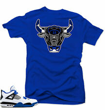 "/""Crown Bull/"" T-Shirt to Match Air Retro /""Raptor/"" 4/'s"
