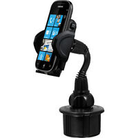 Mac Auto Cup Holder Cell Phone Mount For Verizon Htc 10 Desire 530 Kyocera Briga