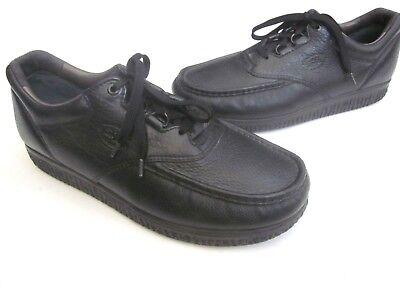 Halbschuhe Diplomatisch Sas Pathfinder Schwarzes Leder Herren Sz 12 N Schnürschuhe Komfort Schuhe In Euc