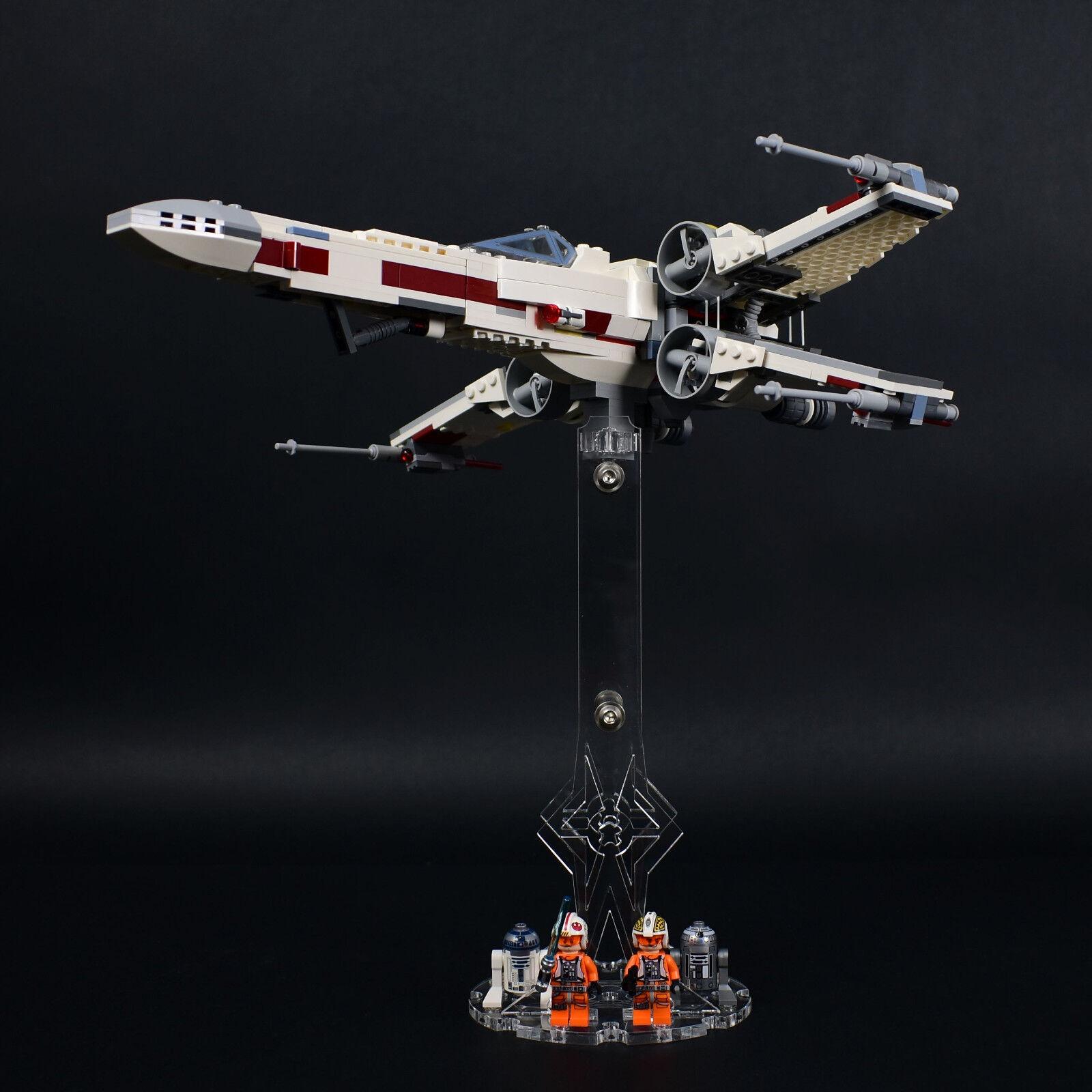 Spaceholder en Plexiglas H3 Hauteur 25,0 cm pour Votre Lego Modèle Space Support