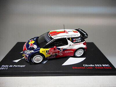 CITROEN DS3 WRC RALLY PORTUGAL 2011 LOEB ALTAYA IXO 1//43
