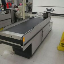 Motorized Checkout Counter Used Electric Check Lane Store Fixtures Amp Equipment