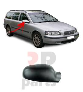 Para-Volvo-V70-II-00-04-S80-98-04-Cubierta-Del-Espejo-De-Ala-Puerta-Derecho-Tapa-Para-Pintar