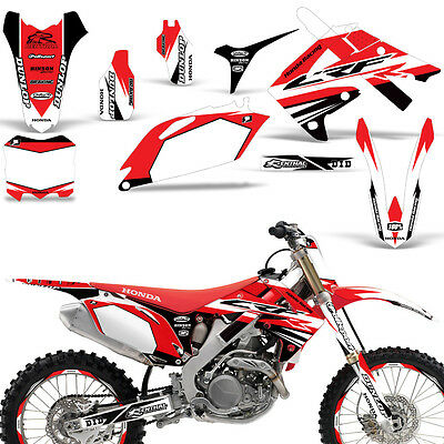TWO TWO HONDA CRF 250 2010-2013 CRF 450 2009-2012 DECAL STICKER GRAPHIC KIT