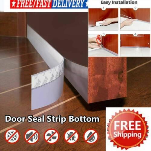 Foam Draught Excluder Weather Seal Strip Insulation Door Window Tape New AU