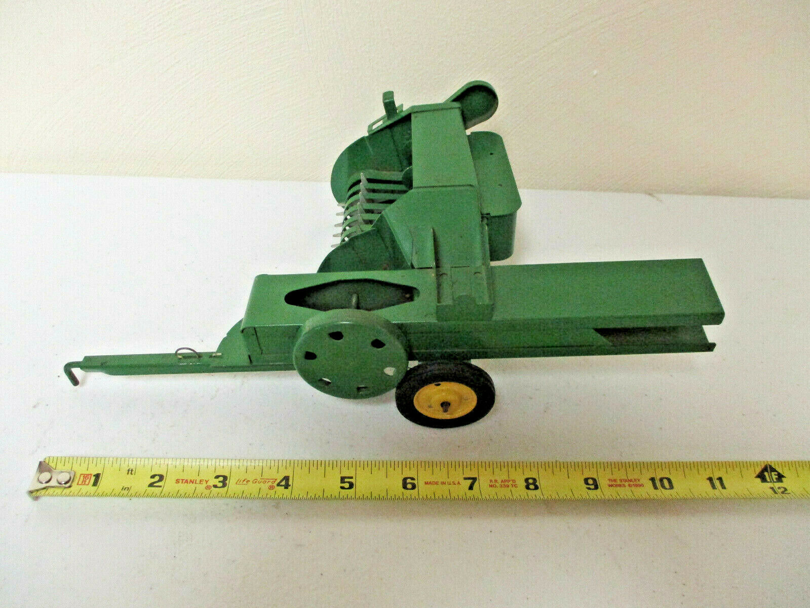 John Deere Square Baler With Missing Chute By Eska 1950's  Nice Condition