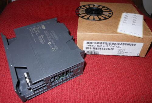 NEW Siemens DP Slave Interface Module Simatic Model #6ES7 153-2BA00-0XB0