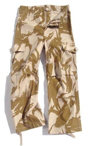 DESERT COMBAT TROUSERS boys 5-6 soldier gear tough Military outdoor cargo pants