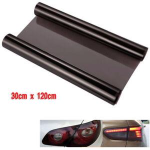 Pellicola-adesiva-colorata-oscurante-per-fari-fanali-auto-moto-ecc-Nero-30x120cm