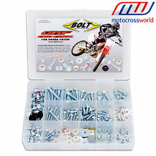 Bolt Motorcycle Pro-Pack Hardware Kit for Honda CR / CRF 250 450 R X