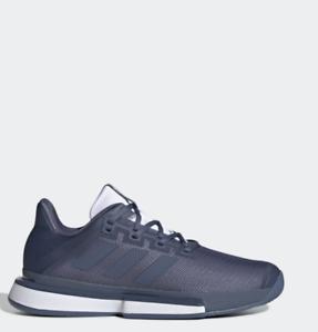 Adidas Sole Match Bounce M Tennis Badminton Schuhe Blau EE9562 Größe 4-12