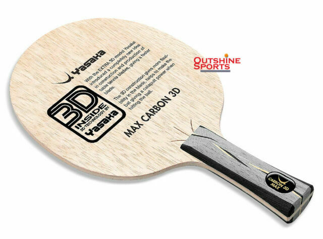 Yasaka Carbon 3D Max Table Tennis Blade