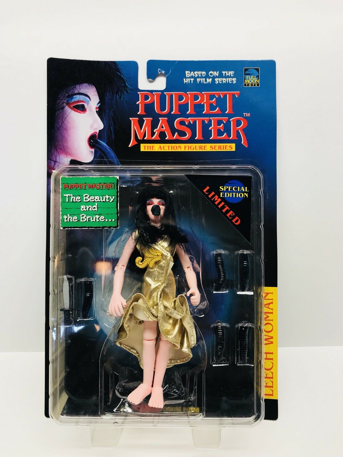 Full Moon Leech Woman in gold dress Puppet Master Limited Special Edition figure