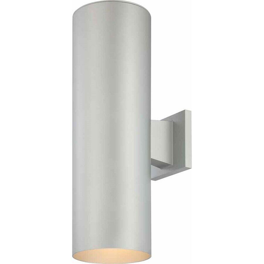 Iluminación de volumen 2 Luz de Lámpara de Parojo al Aire Libre gris Plata, gris plata-V9636-20