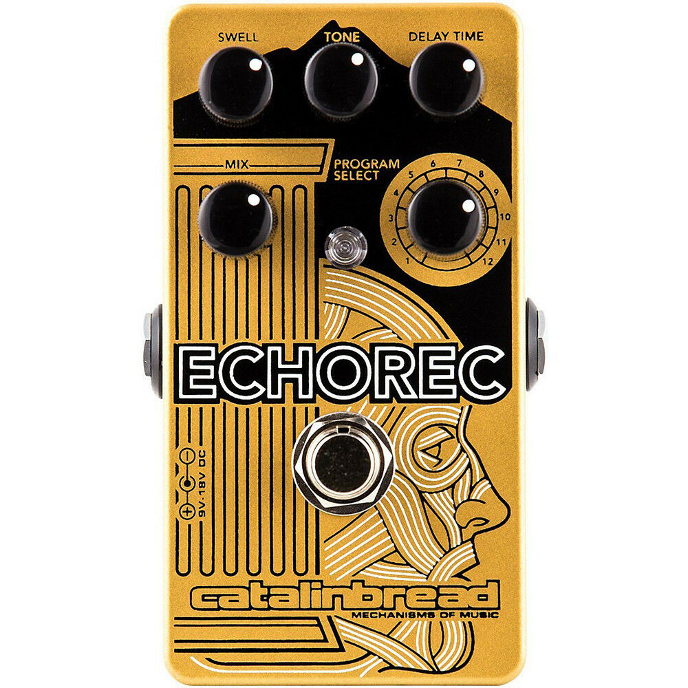Catalinbread Echorec Multi Tap Echo Delay 12-Position Switch Guitar Effect Pedal
