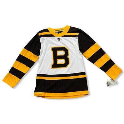 NWT Boston Bruins 2019 Winter Classic Size 42 Adidas Authentic Pro Hockey Jersey | eBay