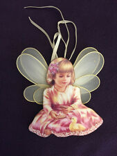"Porcelan hanging ornament 'Divine Guardian"" Donna Gelsinger 11th issue"