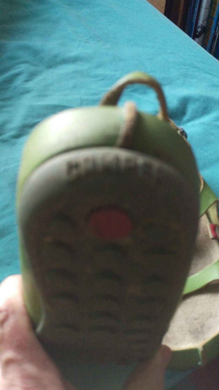 Camper sandalias de cuero verde 5 38