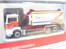 Herpa MAN M 2000 Abrollcontainer Feuerwehr Westerwald