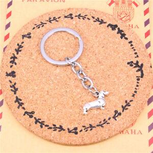 Dashchund-Keyring-Doxie-Sausage-Dog-Gift-Keepsake-Key-Chain-Collectible-Puppy