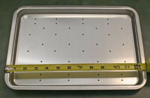 "12-1//2/"" x 9/"" Aluminum Perforated Pan"
