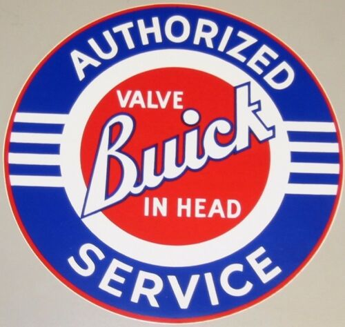 """Tool BoxVinyl Sticker Trailer Buick Authorized Service Decal10/""""Garage"""