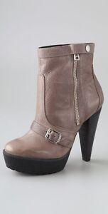POUR-LA-VICTORIE-Brown-Darien-Leather-Mid-Calf-Platform-4-034-high-Booties-BNWOT