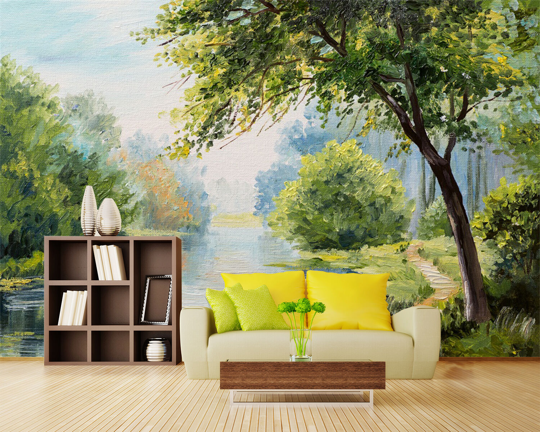 3D Oil Painting 823 WallPaper Murals Wall Print Decal Wall Deco AJ WALLPAPER