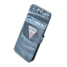 Guess Denim Jeans O2 Book Case for iPhone 6 Plus - Retail Packed - Retail Packed