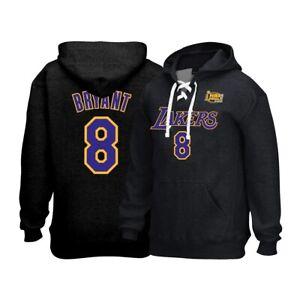 Kobe Bryant Reebok Los Angeles Lakers 2002 Finals Lace-Up Pullover Hoodie Men's