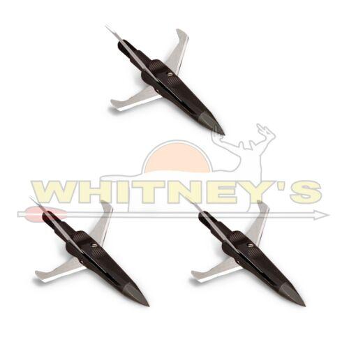 Nap Spitfire 3 lame mécanique Broadhead 100 g 1 1//2 en coupe de tir à l/'arc 60-234